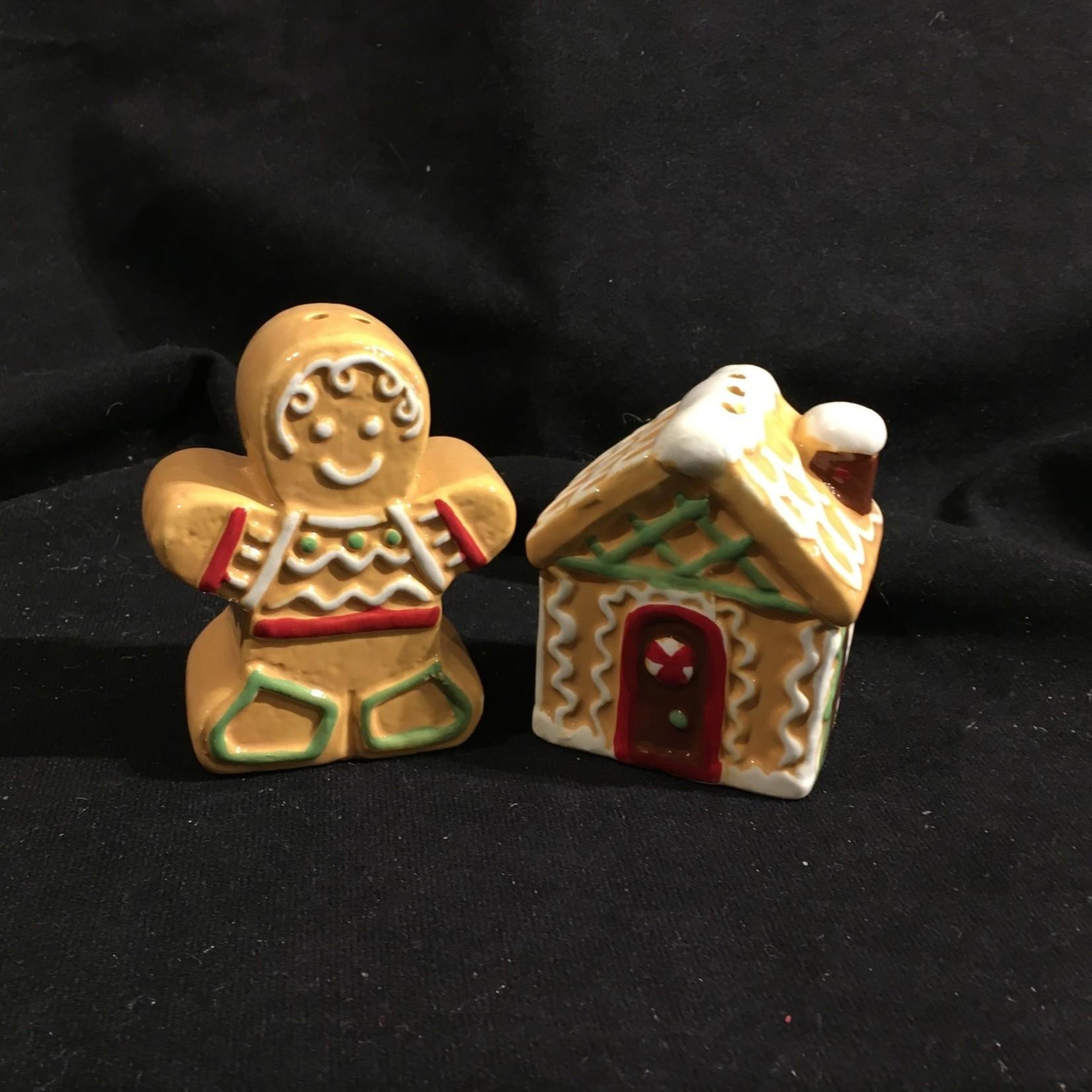 Gingerbread Salt & Pepper