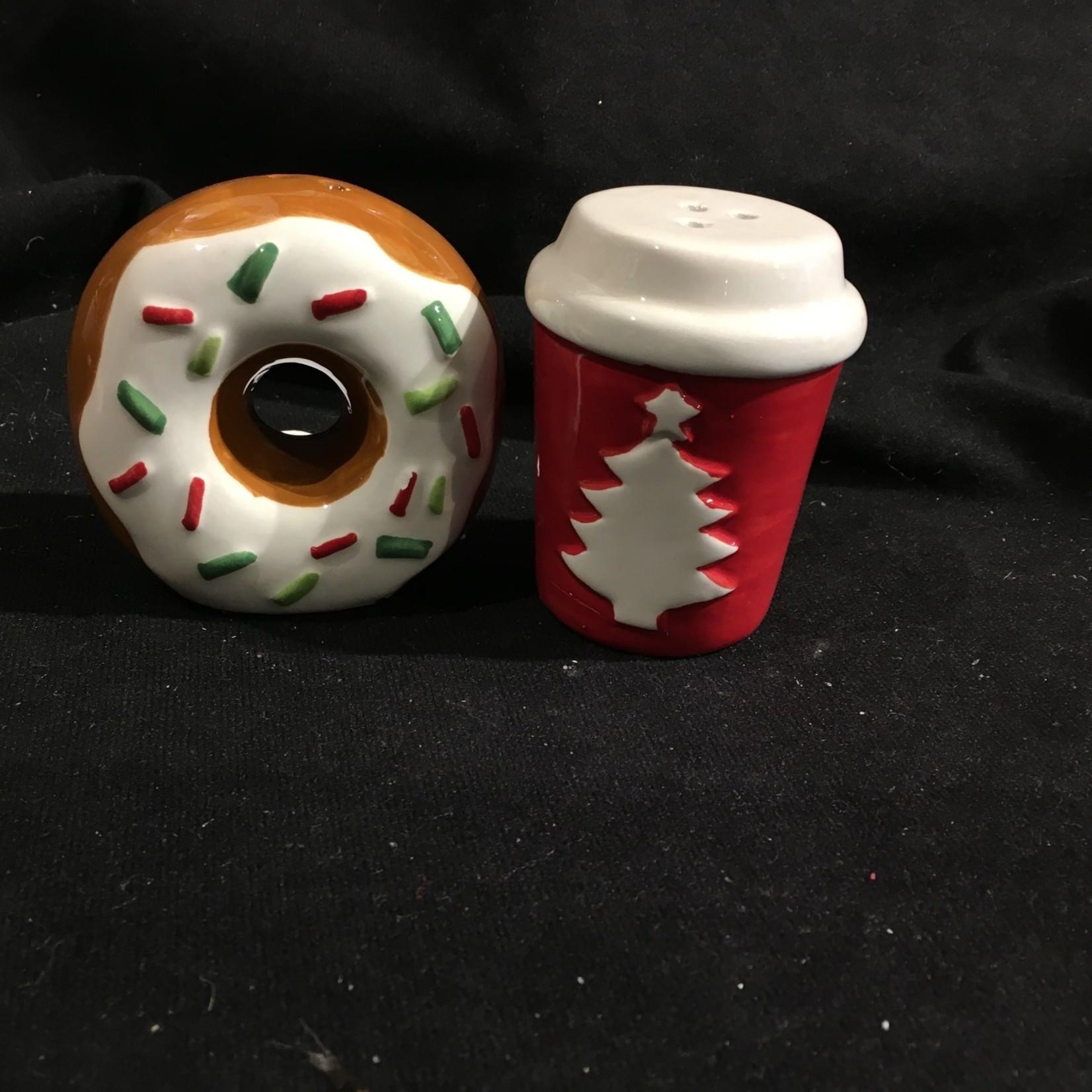 Donut & Coffee Salt & Pepper