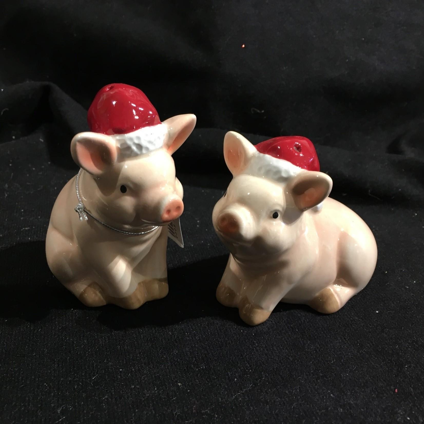Christmas Pig Salt & Pepper
