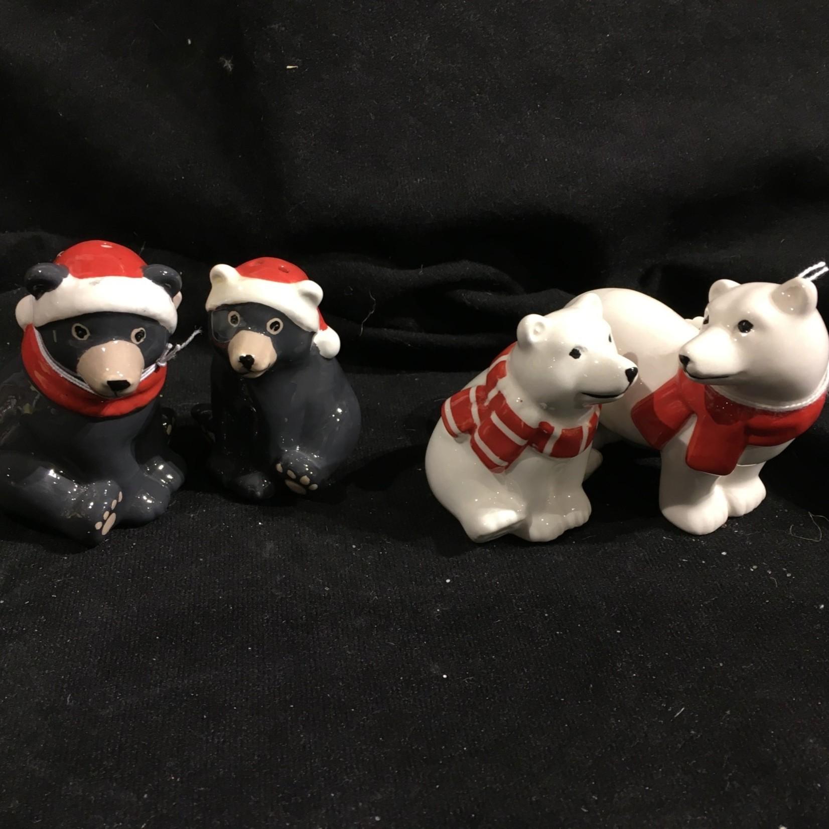Christmas Animal Salt & Pepper 2A