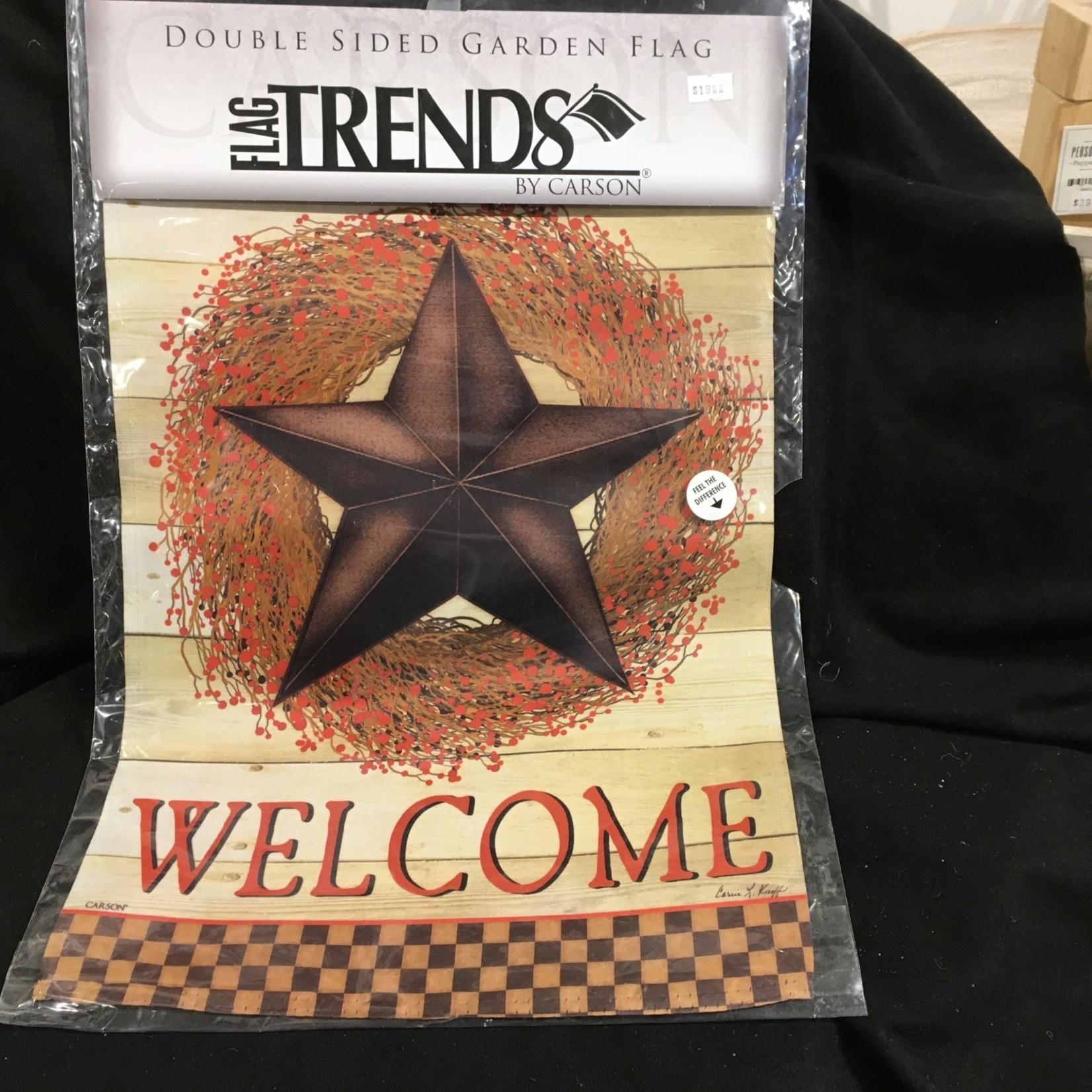 Flag - Welcome Barn Star