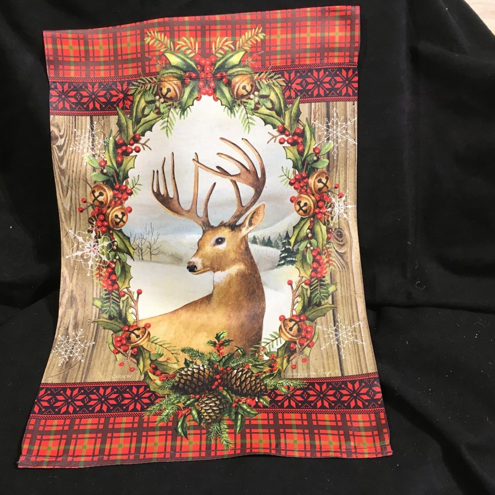 Flag - Holiday Deer