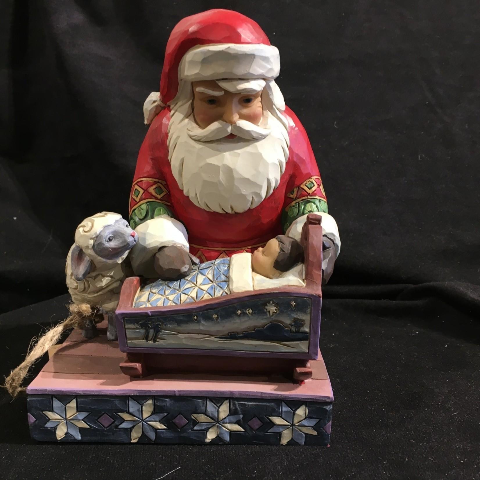 Jim Shore - Santa w/Baby Jesus
