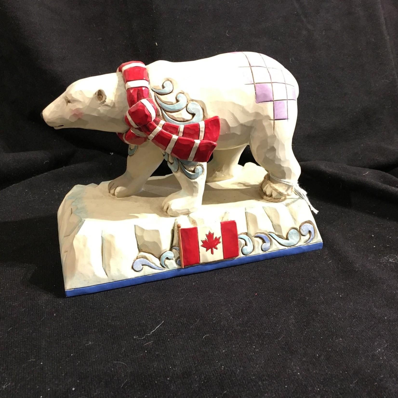 Jim Shore - Canadian Polar Bear