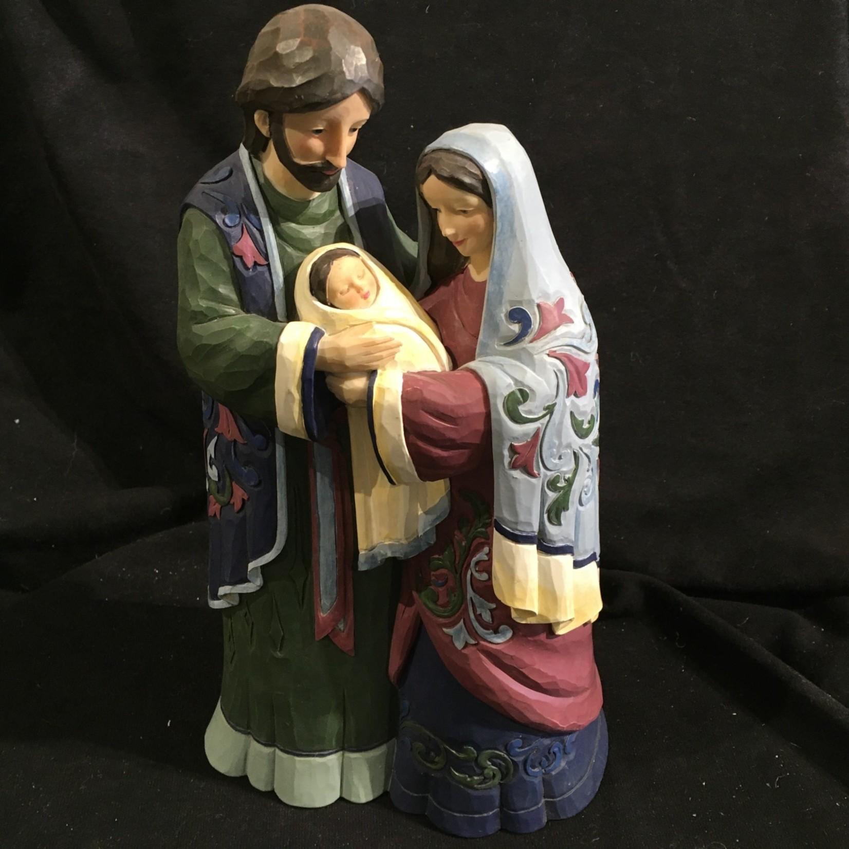 "Jim Shore - 12"" Holy Family"