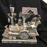 Jim Shore - Woodland Santa on Train