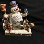 "Jim Shore - 6"" Frosty & Woodland Friends"