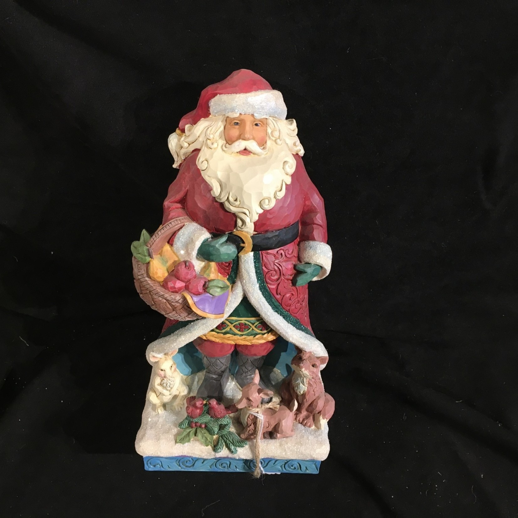 "Jim Shore - 12"" Santa w/Animals"