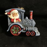 Jim Shore - Santa in Train Orn