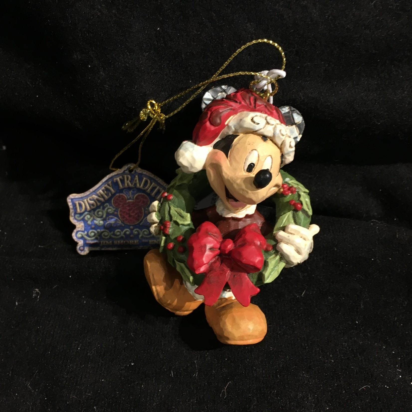 Mickey Mouse w/Wreath Orn