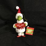 """7"""" Ho Ho Ho Grinch Ornament"""