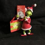 Grinch w/Book Ornament (no box)