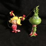 Baby Grinch/Cindy Lou Orn 2A (Cindy Lou sold out)