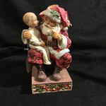 """Jim Shore - 7"""" Santa with Child (Special Edition)"""