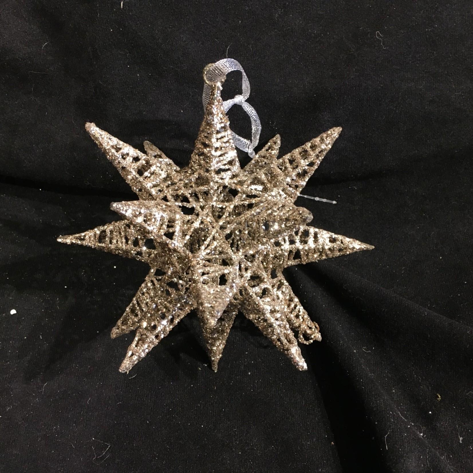 **Gold Morovian Star Ornament