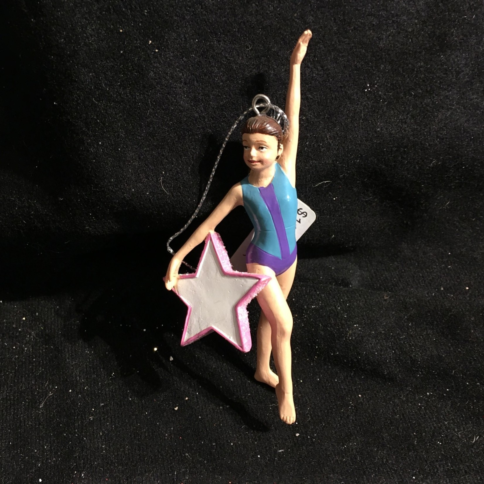 **Gymnast Star Ornament 2A