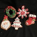 Claydough Cookie Ornament 6A