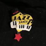 Text Jazz Heart Orn