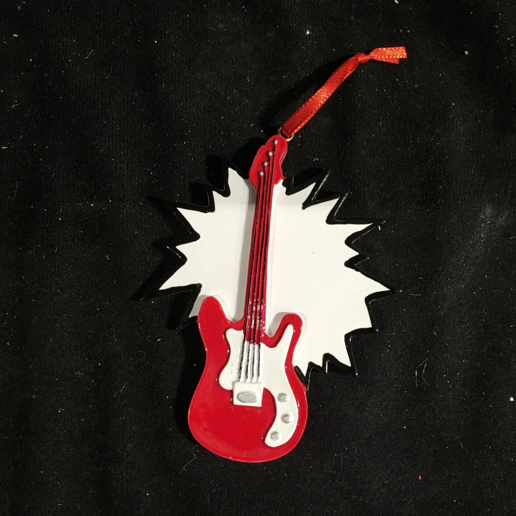 **Red Guitar