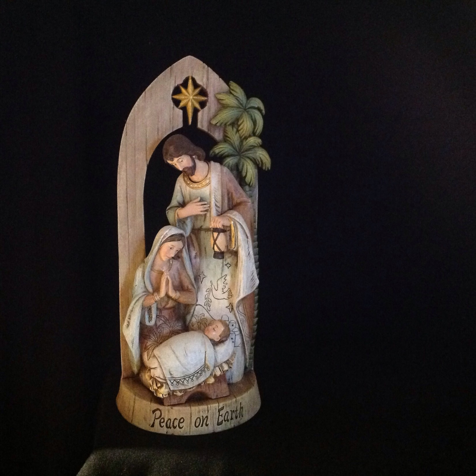 Holy Family Under Arch