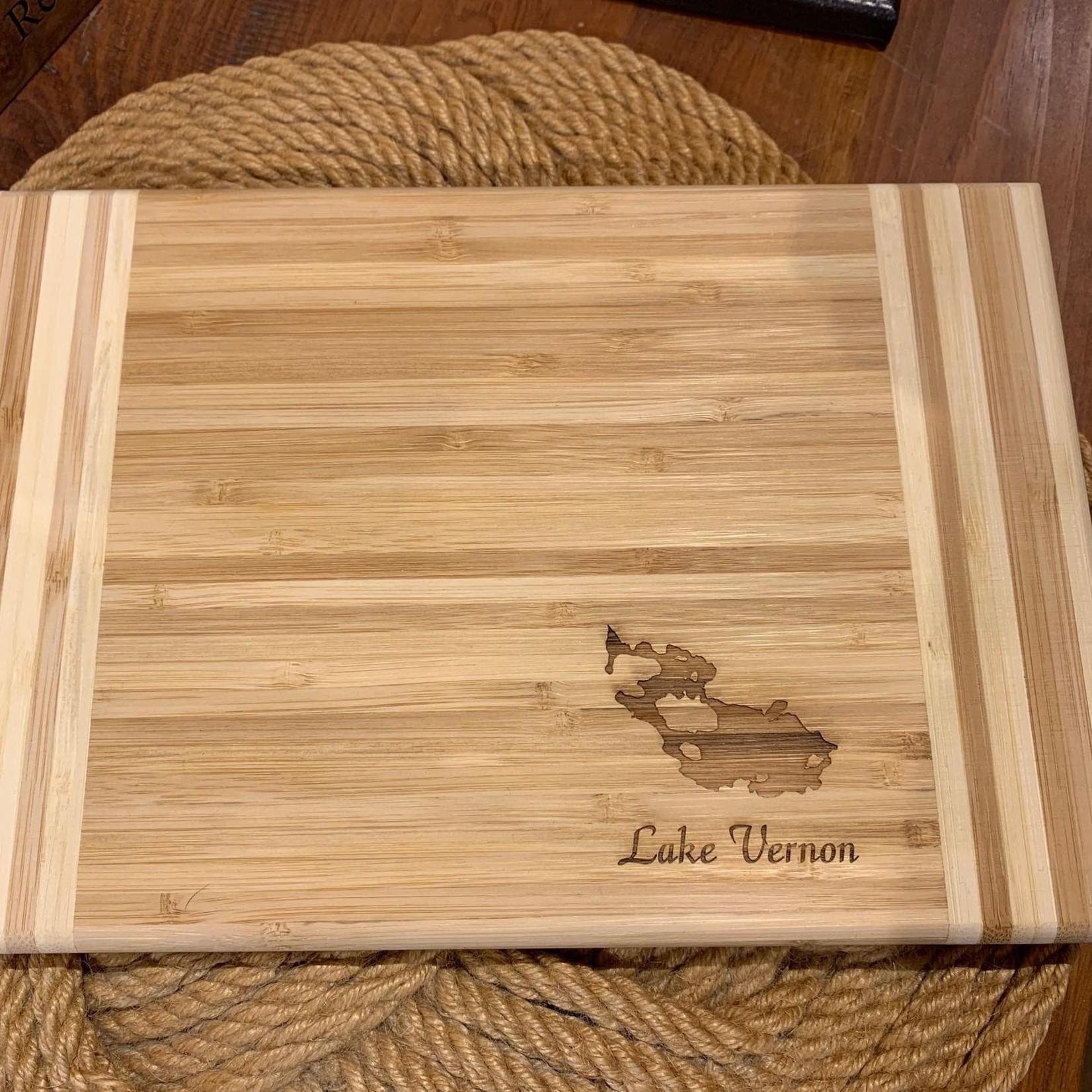 "Bamboo Cutting Board 11.75x7.75"""