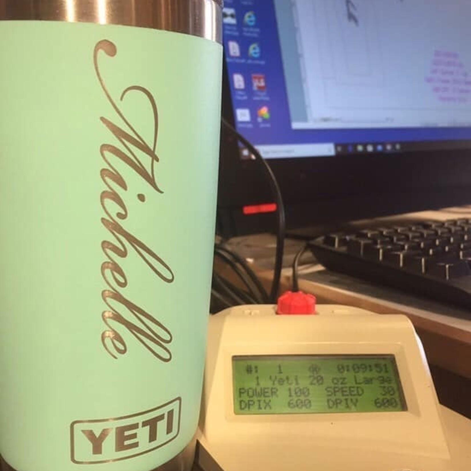 Custom Engrave Yeti**