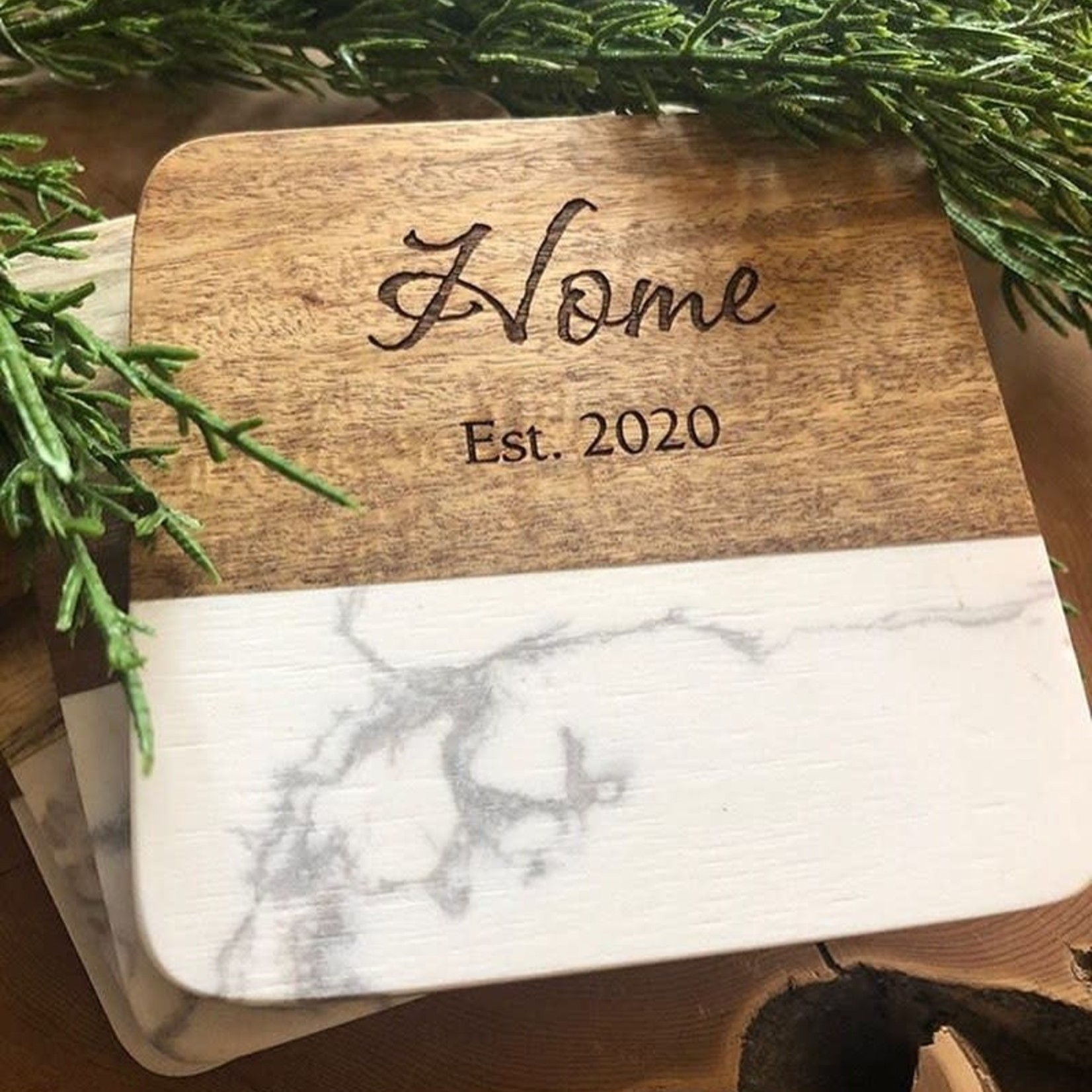 Faux Marble Coaster