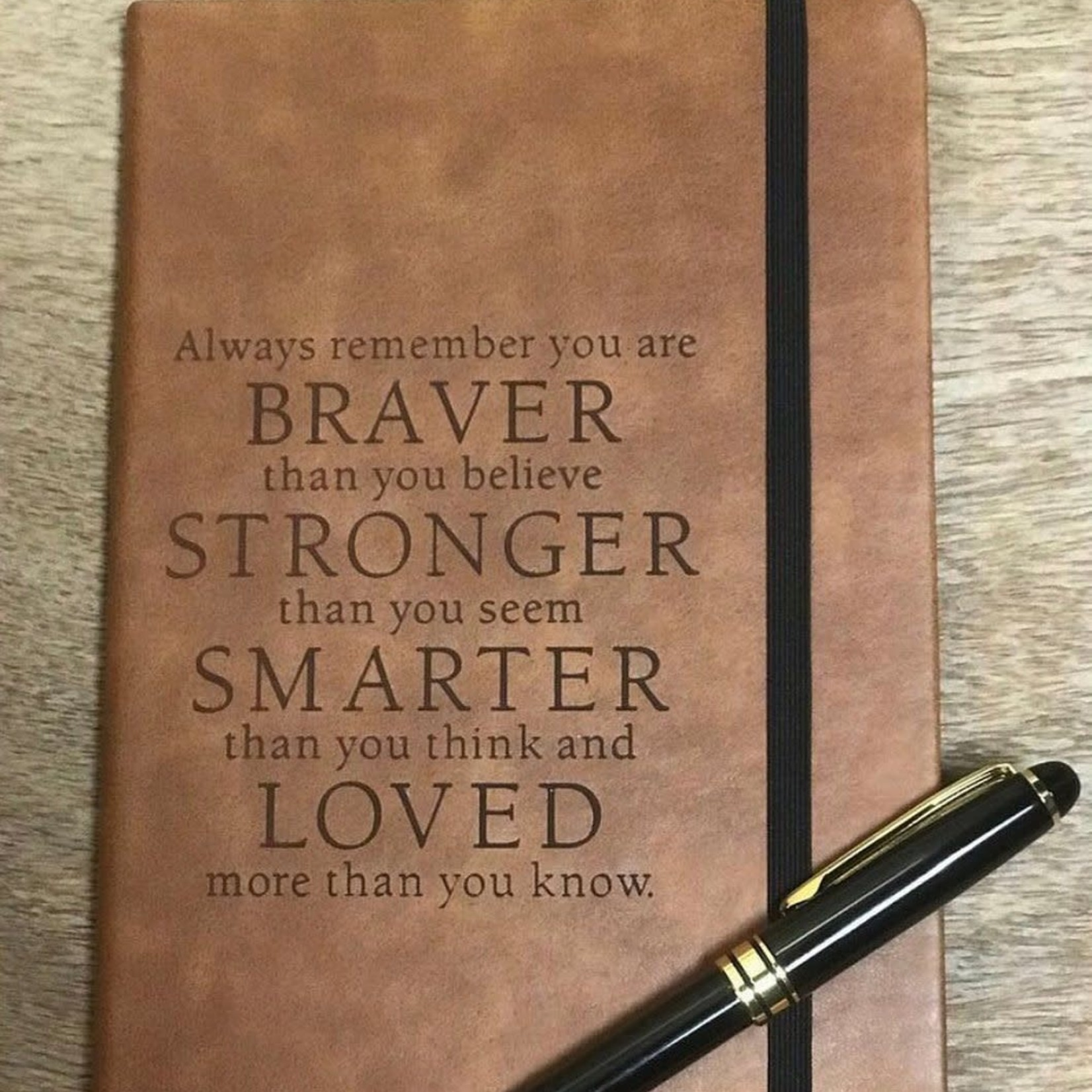"""Large Journal - Brown 8.25x5.25"""""""