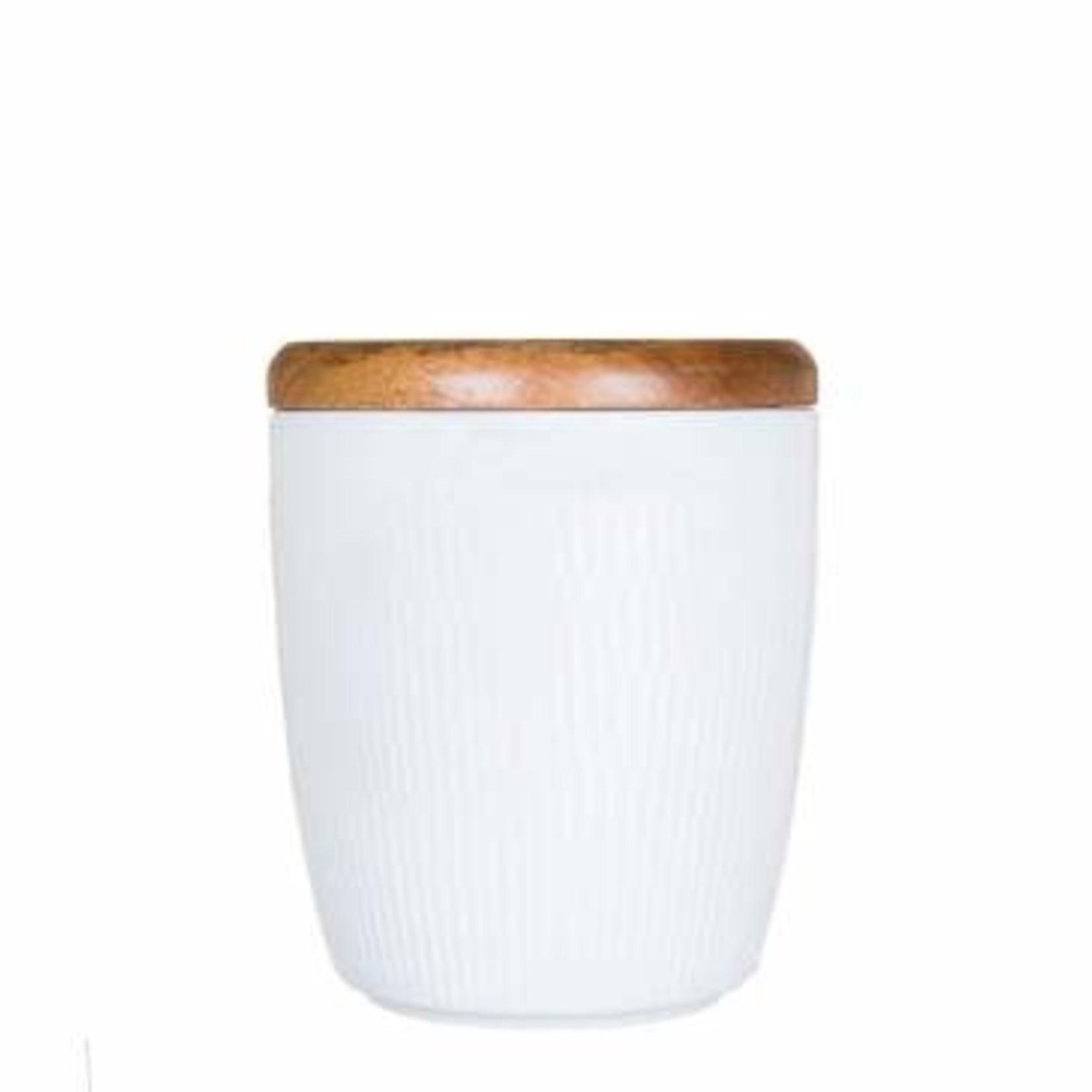 Porcelin Cannister (16 oz)
