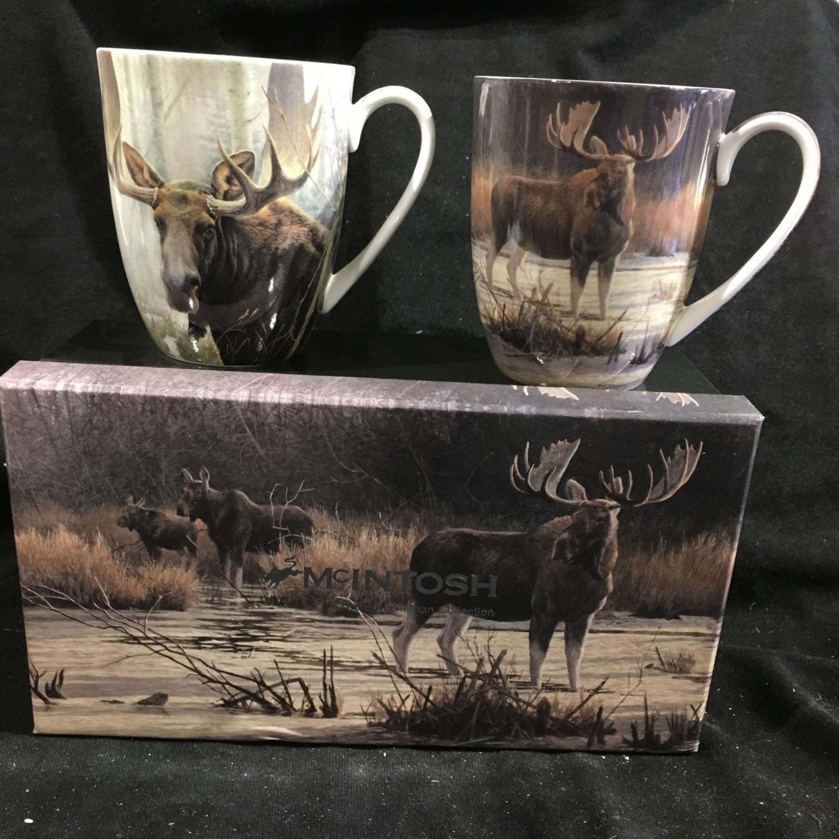 Bateman Moose Mug (Set of 2)