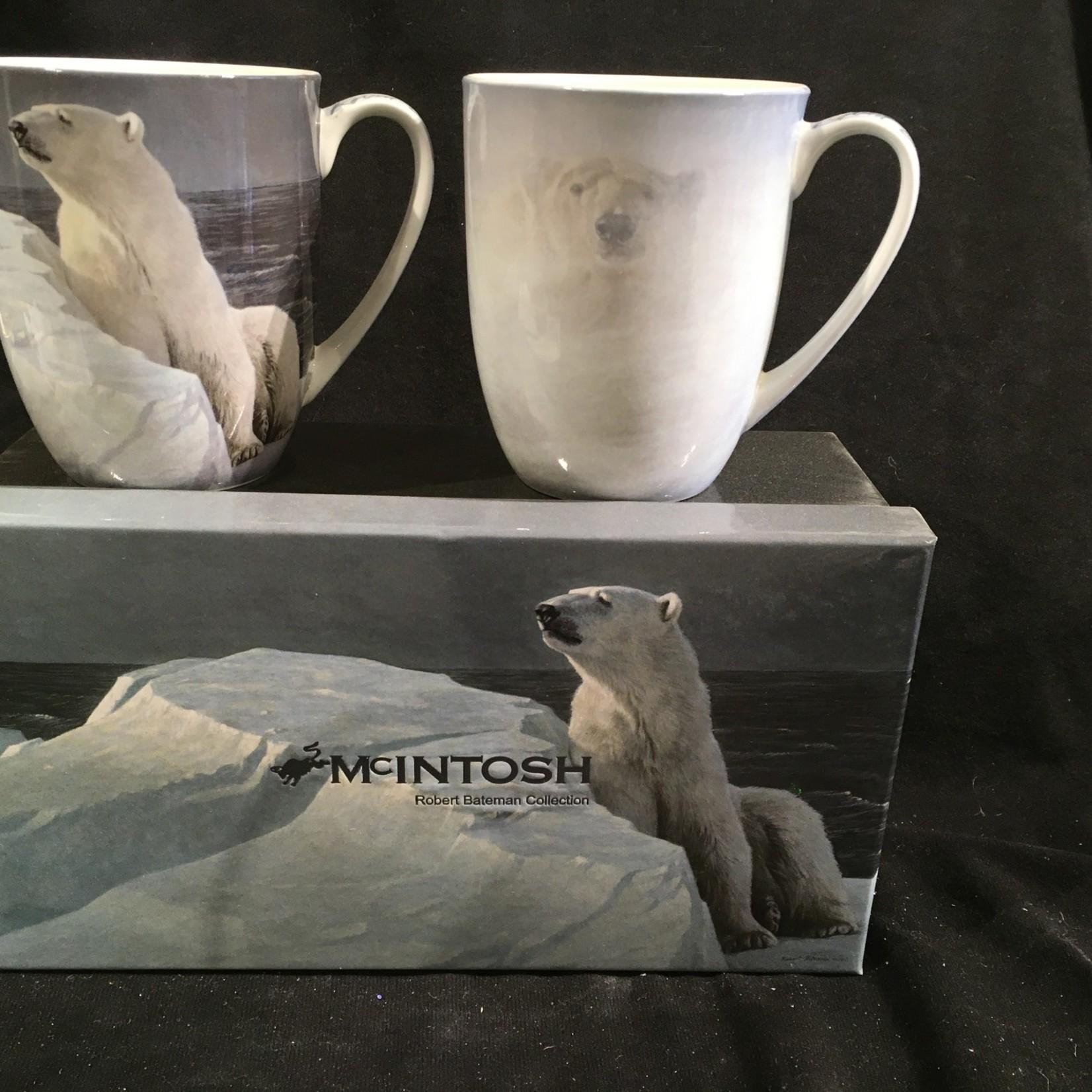 Bateman Polar Bear Mug (Set of 2)