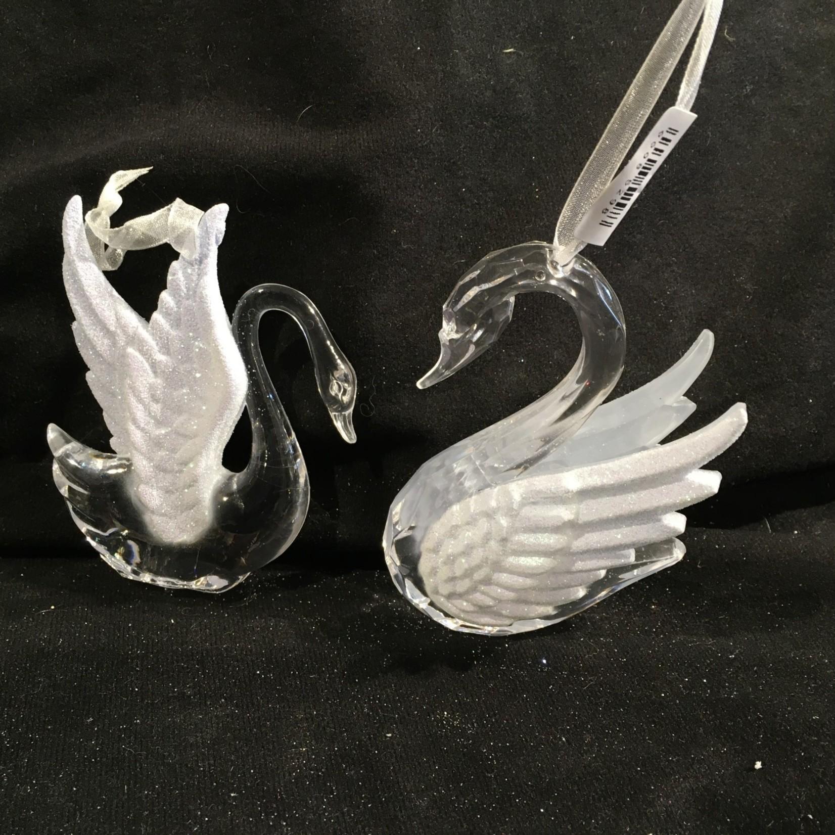 """4"""" Acrylic Swan 2A"""