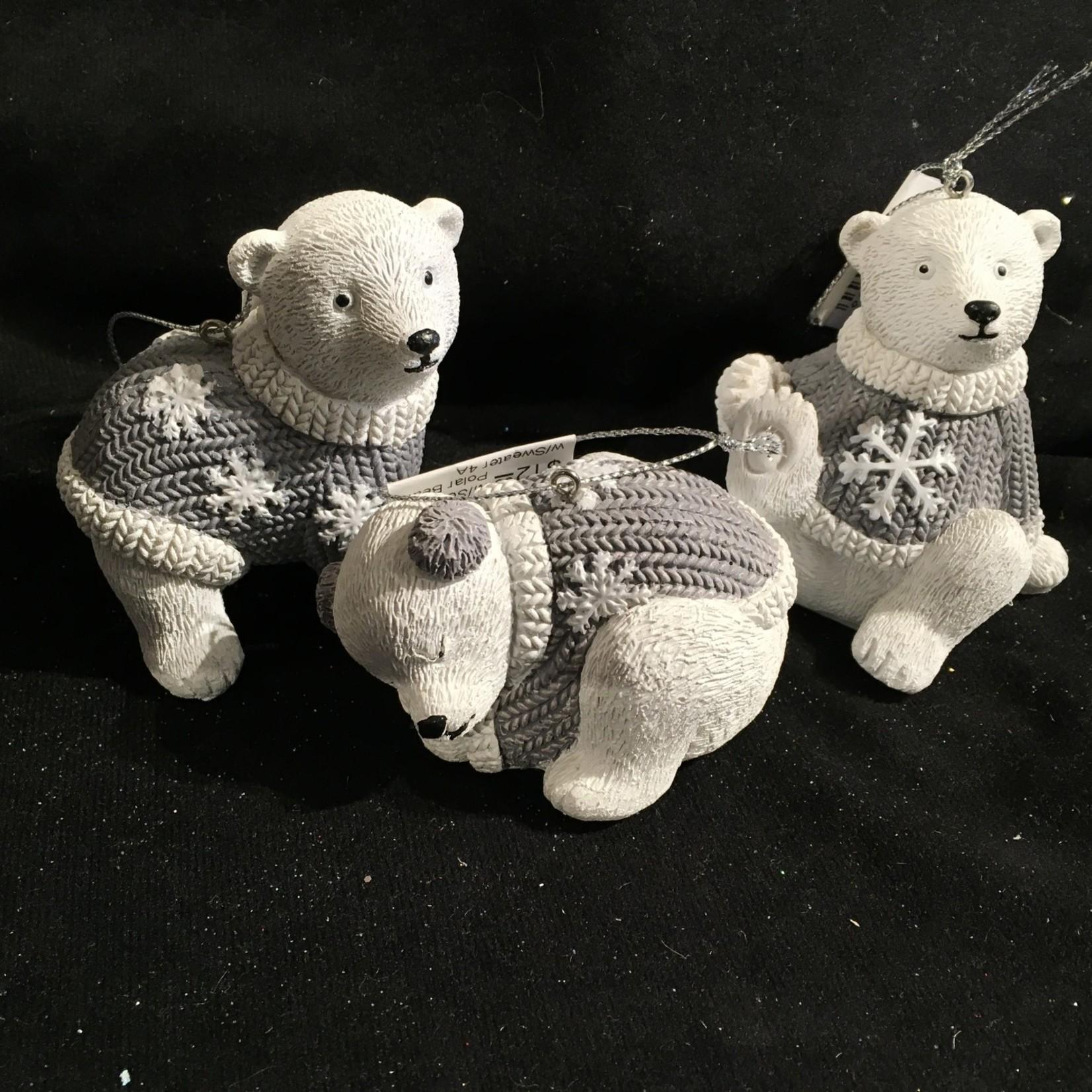 Polar Bear w/Sweater 4A