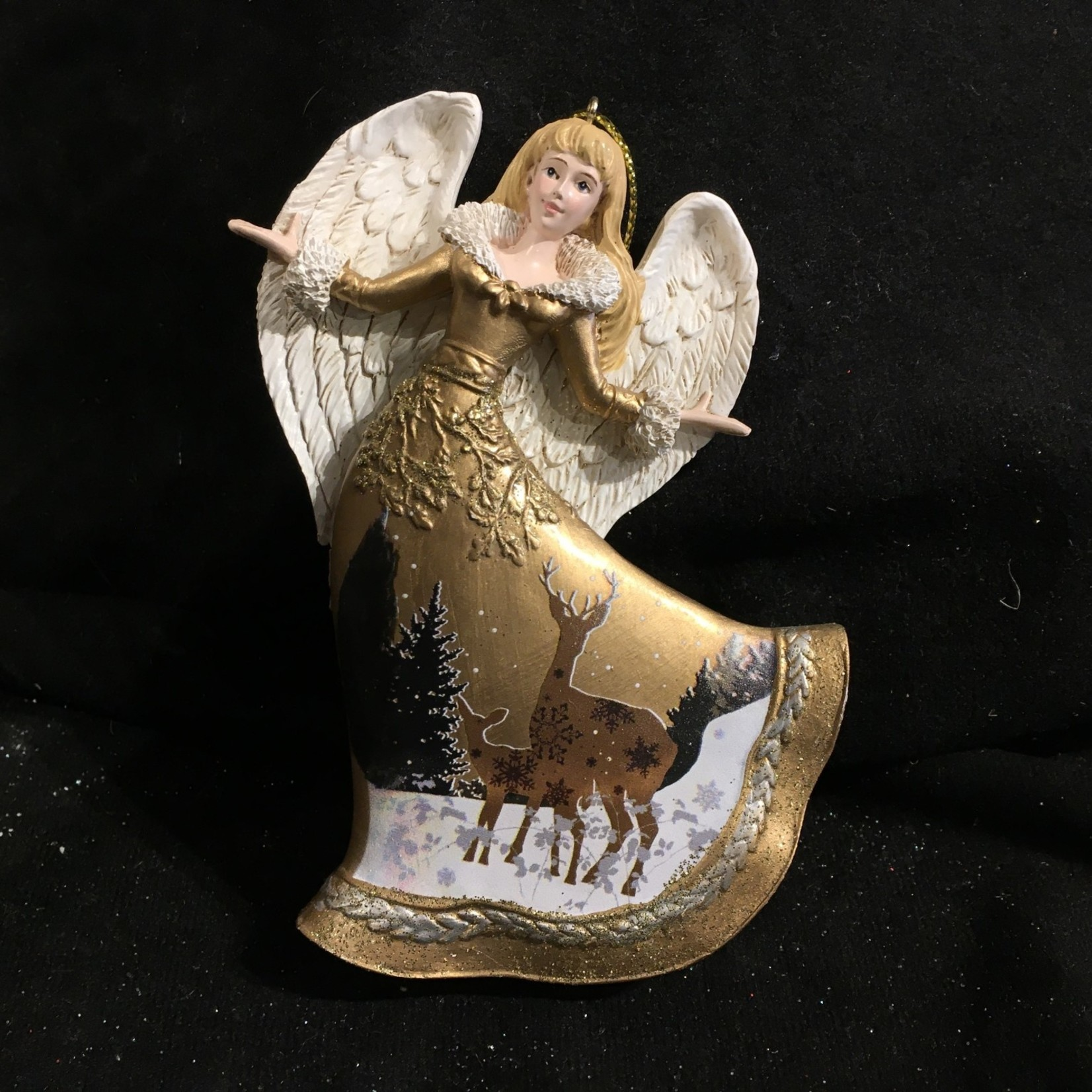 Winter Wood Angel Orn
