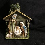 **Holy Family Stable Ornament