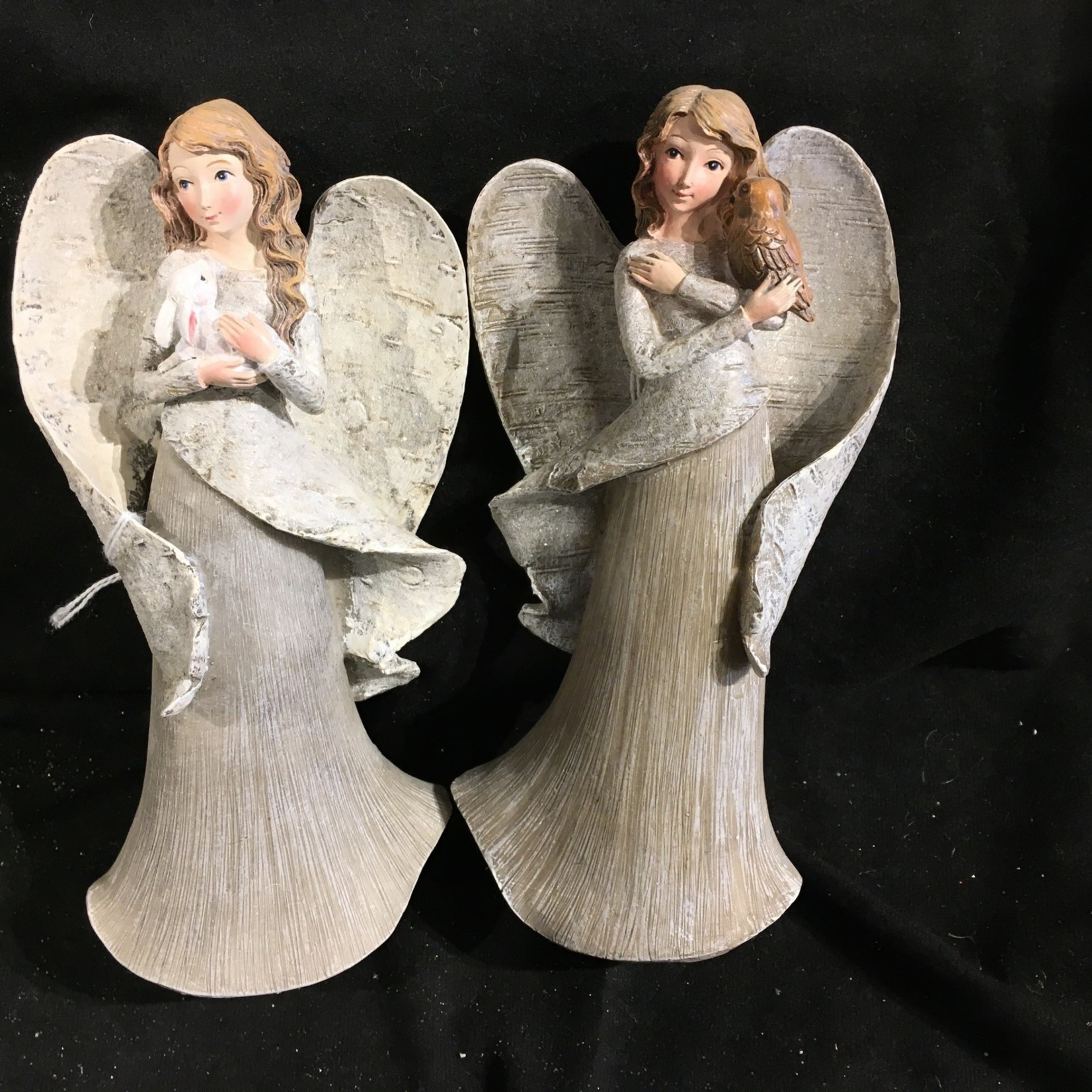 "8"" Angel w/Bunny or Owl 2A"