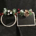 **Chalkboard Ornament/ Stocking Tag 2A