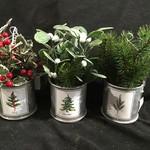 "7"" Holiday Botanical Orn 4A"