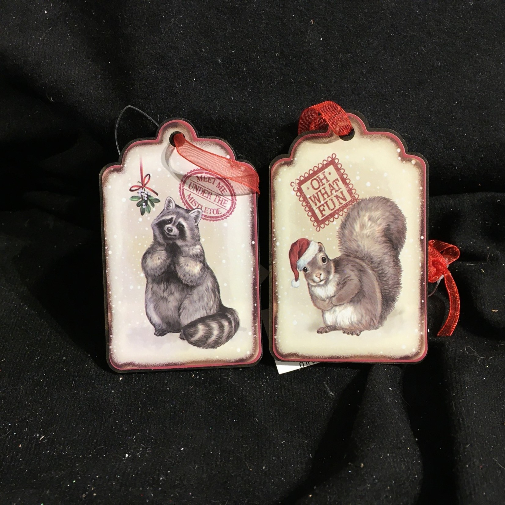 """**3"""" Gift Tag Ornament"""