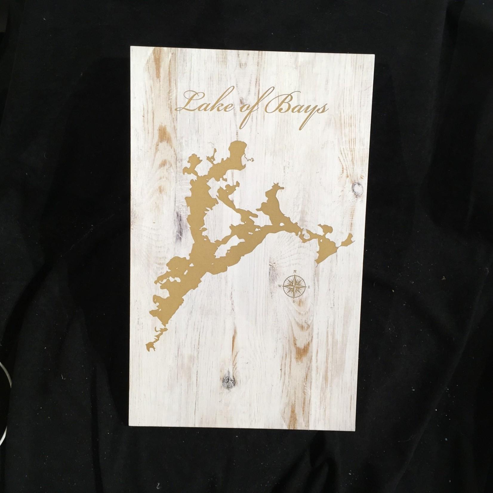 "White Wood Sign (10.5x17"")"