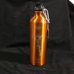Water Bottle w/clip - Orange