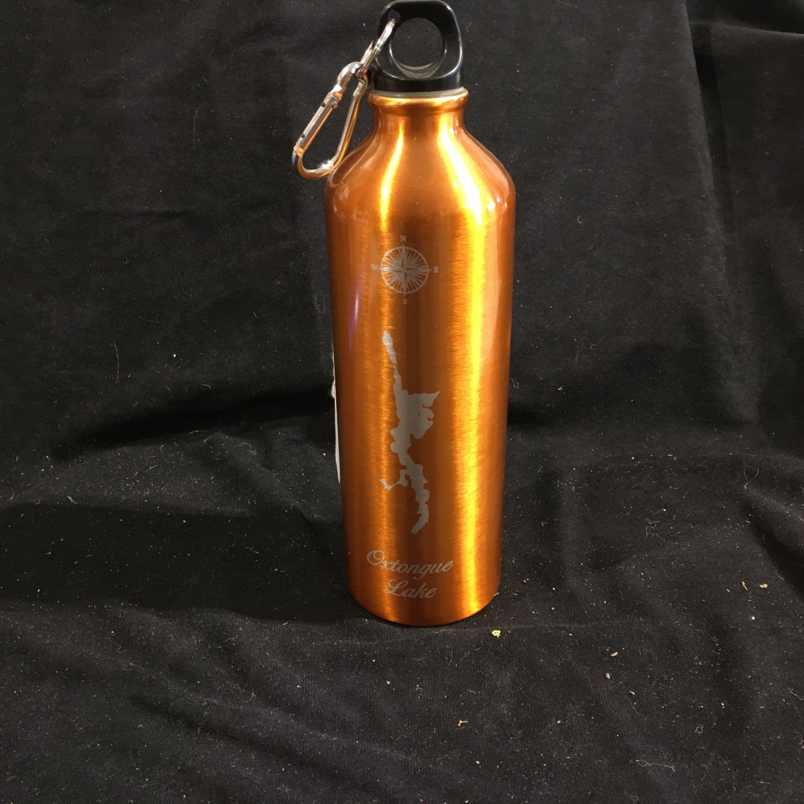 Water Bottle w/clip - Orange
