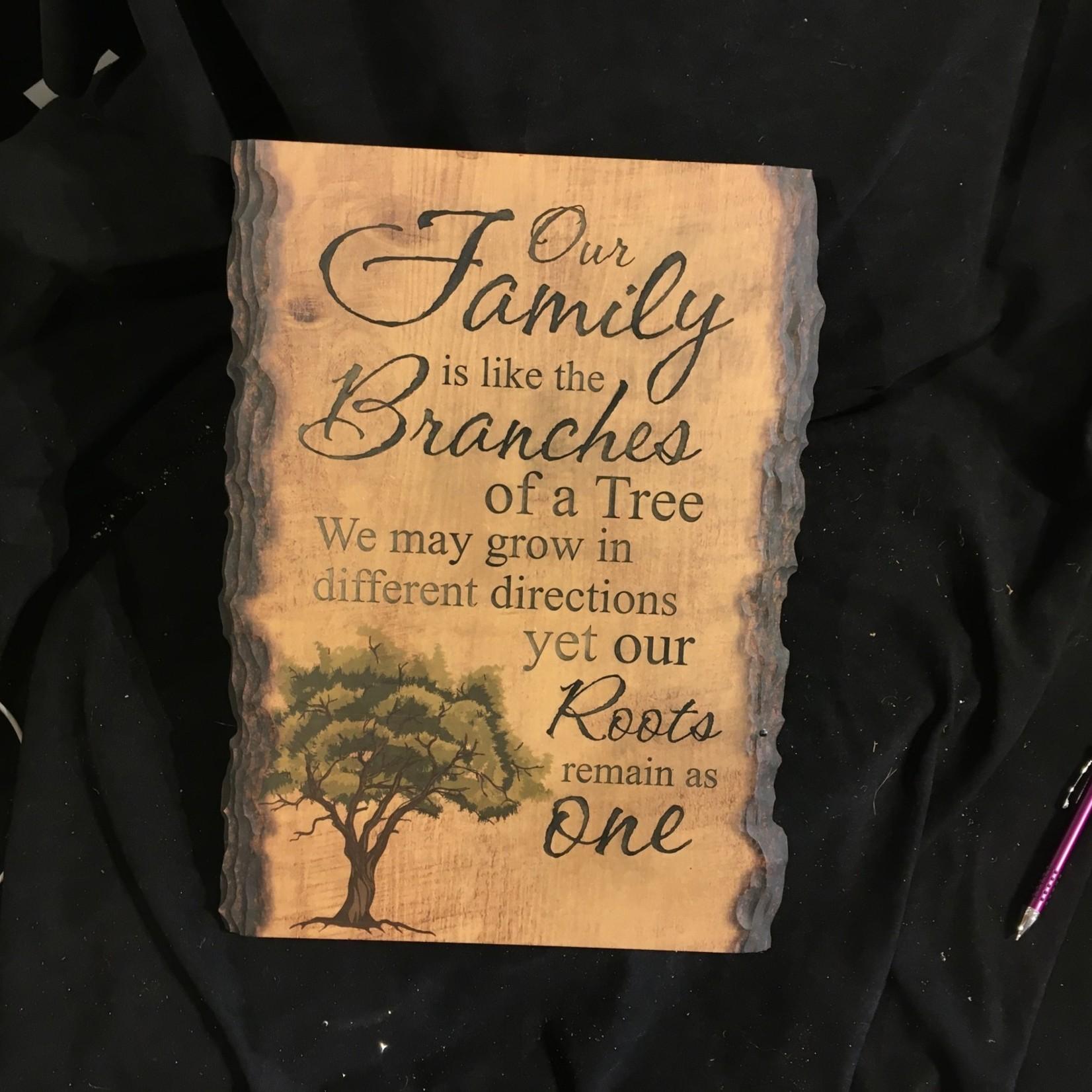 """Barky Sign - w/Tree 12x16"""""""