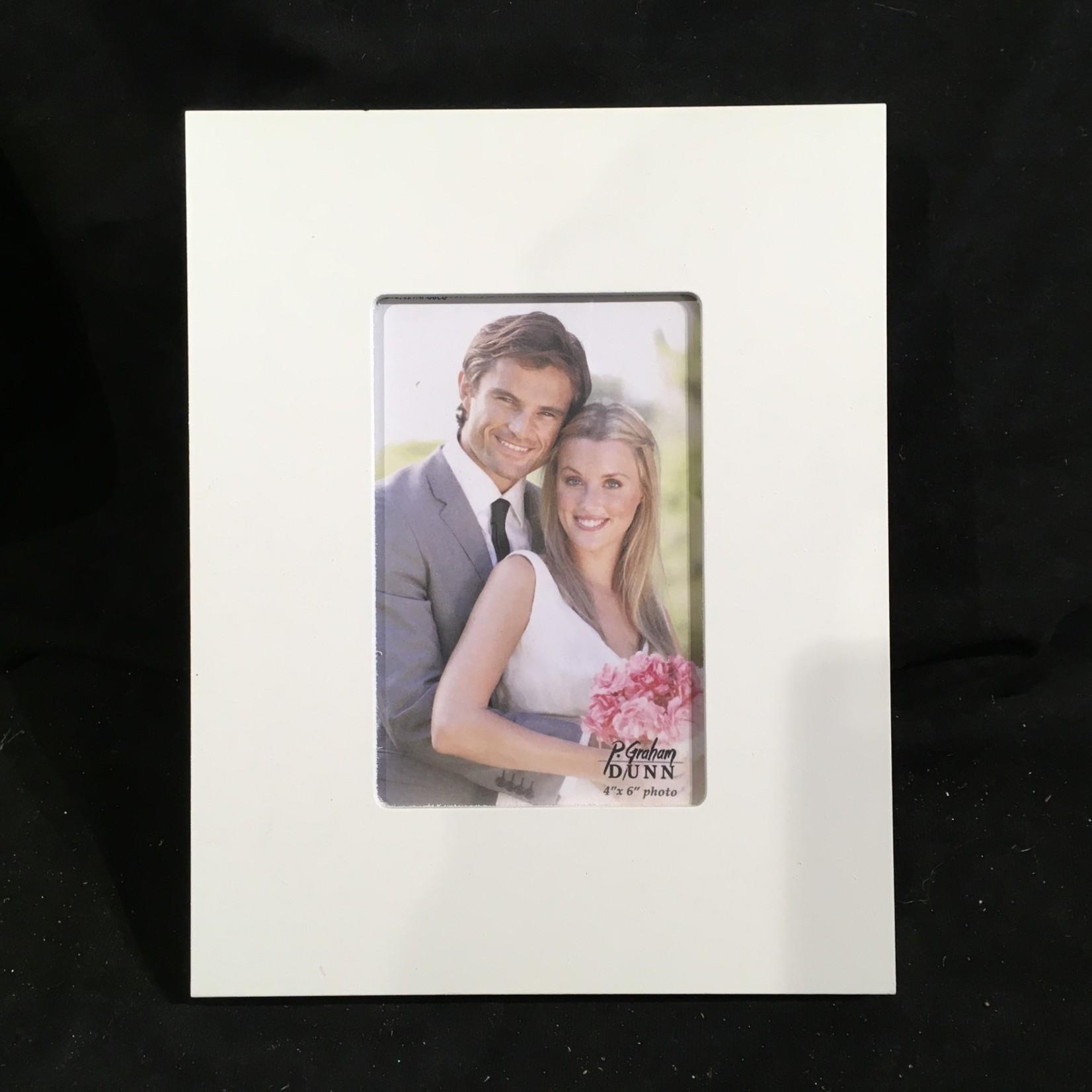 4x6 Photo Frame - White