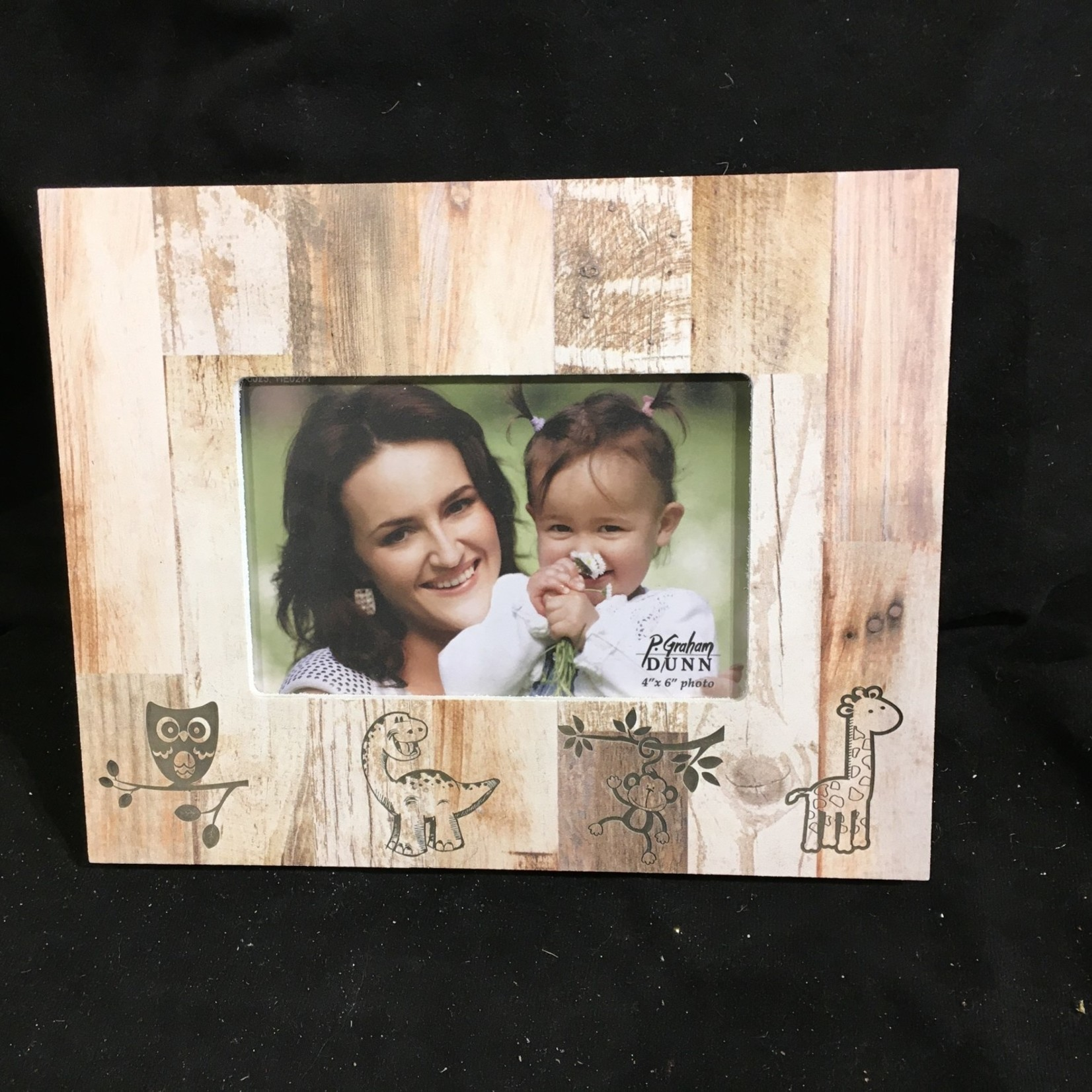 4x6 Photo Frame - Natural Wood