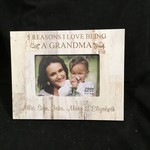 4x6 Photo Frame - White Wood