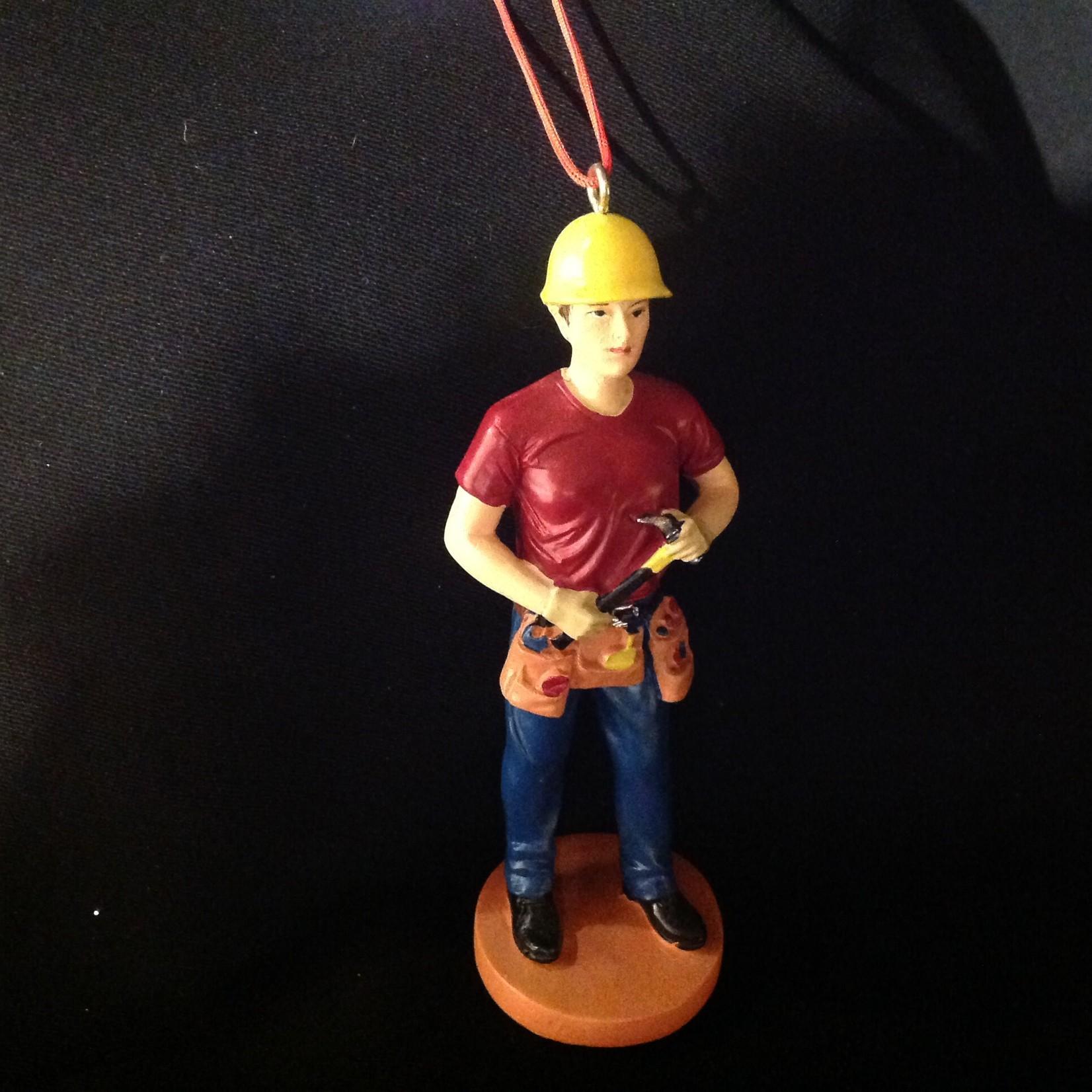 Construction Workman Orn