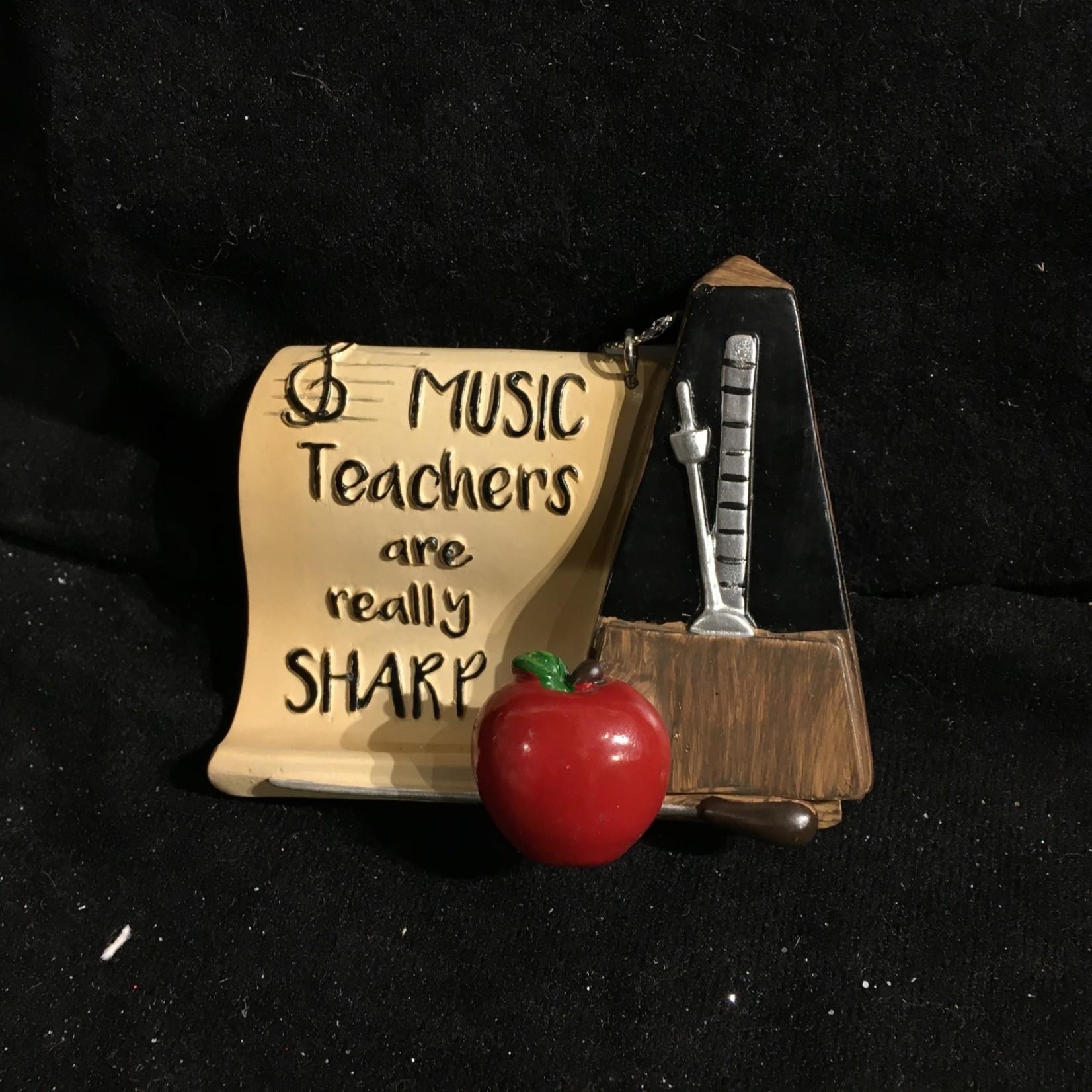 Music Teacher Orn