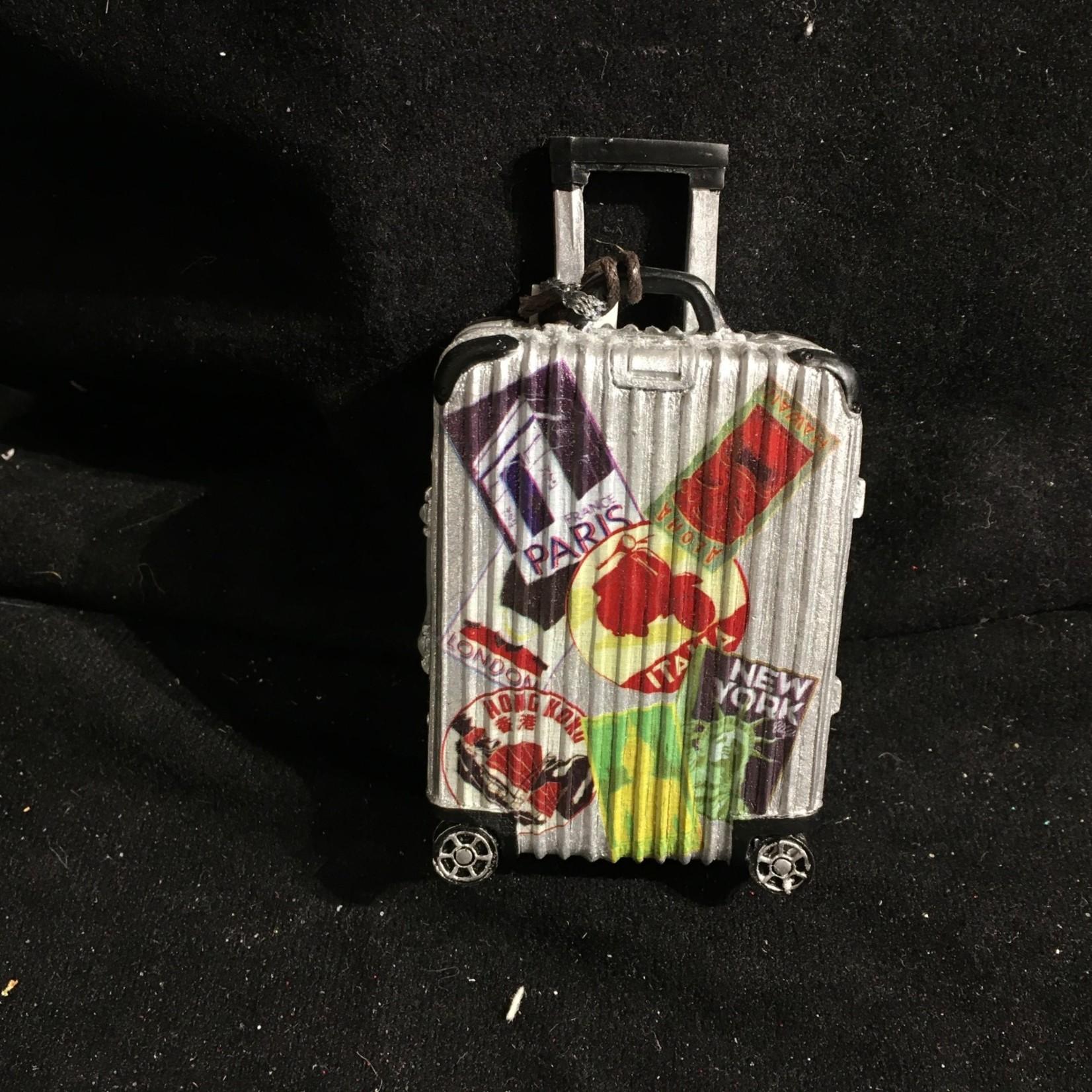 Travel Luggage Ornament