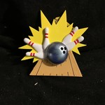 Bowling Ornament
